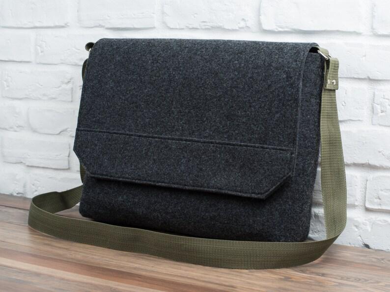 Custom laptop bag MacBook Air messenger 13 inch MacBook bag image 0
