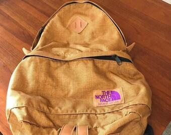 24c7b49662 The north face purple label backpack teardrop shape daypack bag nanamica  brown label vintage