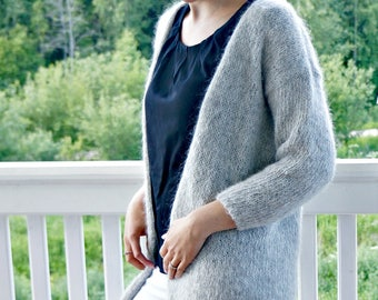 KNITTING PATTERN - The Astrid Cardigan