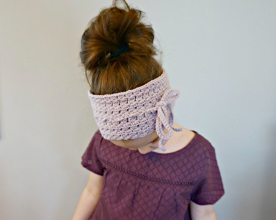 CROCHET PATTERN - The Poppy Headband