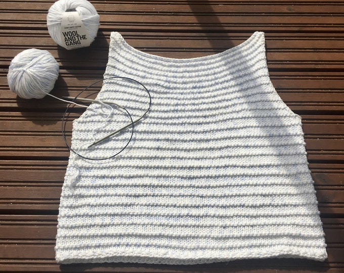 KNITTING PATTERN - The Brooklyn top