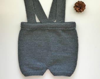 KNITTING PATTERN - the Armas Baby Shorts