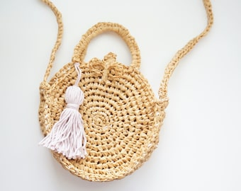 CROCHET PATTERN - The Frankie crochet bag