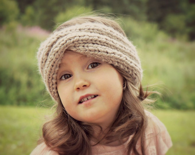 KNITTING PATTERN - The Aina knitted infinity headband