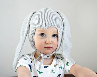 Handmade baby bunny hat