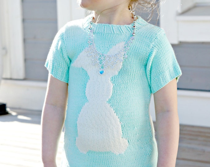 Knitting pattern - Cara de Cottontail dress