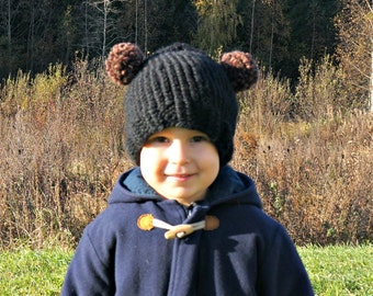KNITTING PATTERN - The Buddy Bear Beanie