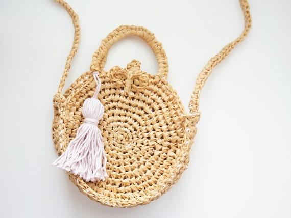 CROCHET PATTERN - The Frankie crochet bag