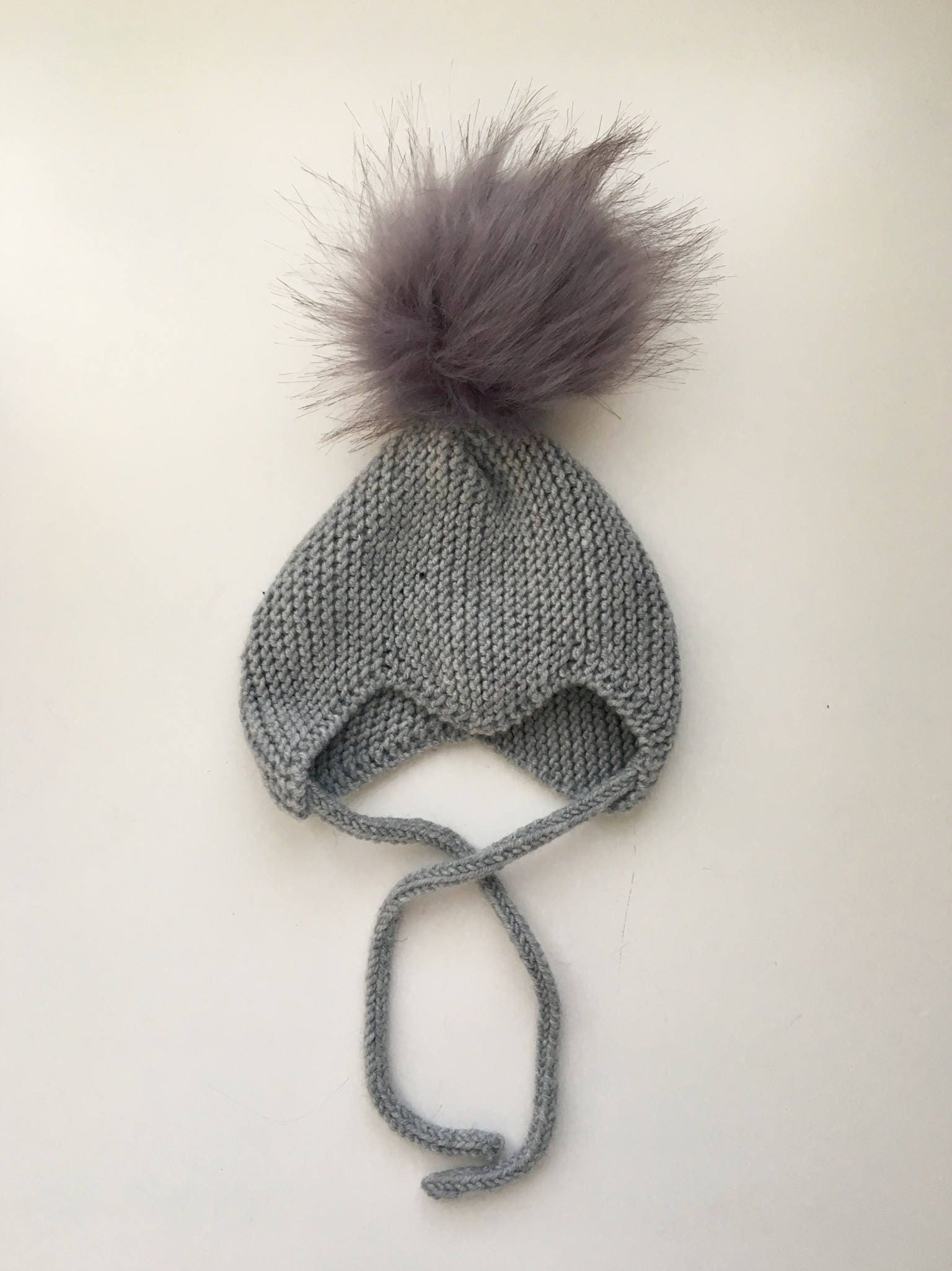 The Scandi Baby Pixie hat in Merino wool - size newborn ed65114fc37