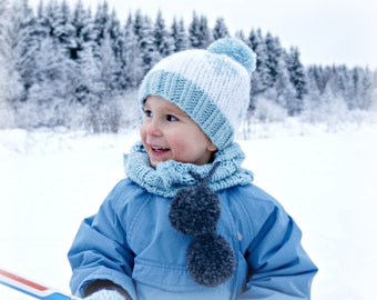 KNITTING PATTERN - The Snowflake Hat