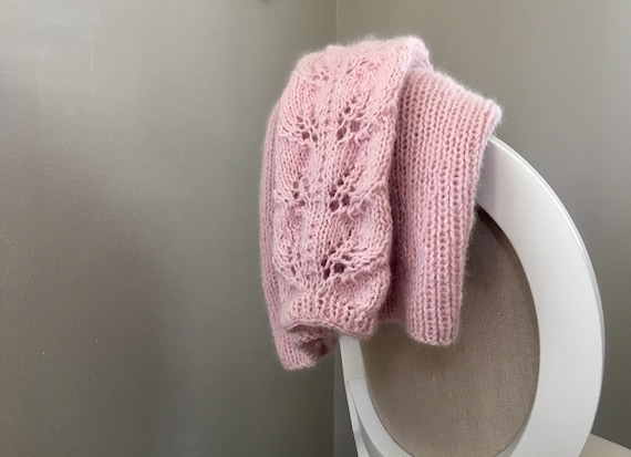 KNITTING PATTERN - The Cotton Candy Sweater