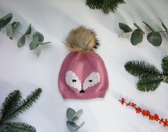 KNITTING PATTERN - Little Foxy Hat