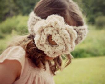 CROCHET PATTERN - the Sylvia crochet headband