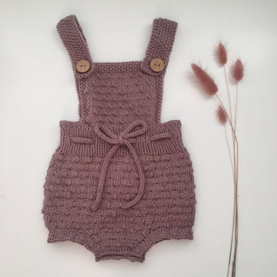 KNITTING PATTERN - Saga knitted romper