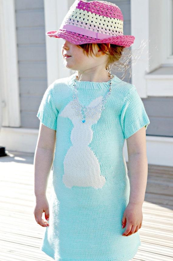 Knitting pattern - Cara de Cottontail dress