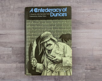 Confederacy Of Dunces - John Kennedy Toole - Walker Percy - 1st Edition, 5th Printing - Rare Book - Vintage Book - Classic Book Classic Lit
