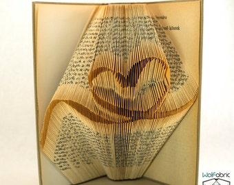 Book folding pattern for world map premium earth europe etsy book folding pattern for ribbon heart churh religion tutorial diy handmade t71 199 pdf gumiabroncs Image collections
