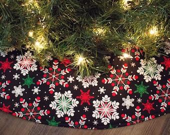Animal print christmas tree skirt u festival collections