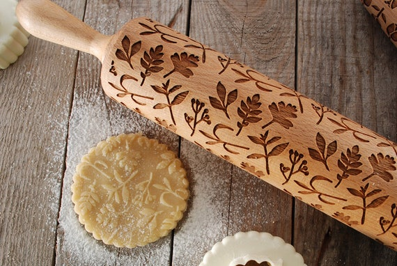 gift for her kitchen tools hand made wooden rol 46CM Natural wood rolling pin christmas gift Chefs Supply kitchen pin gift for him