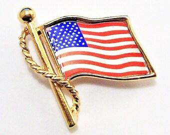 Montserrat Flag Lapel Pin Badge Solid Silver 925