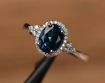 Gemstone Rings Etsy