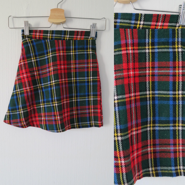 130562c2d3 Red Green Plaid Skirt – DACC