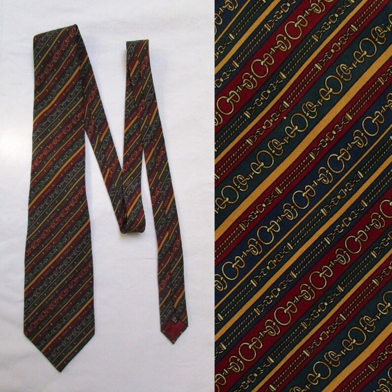 Vêtements, accessoires Cravate vintage rétro cravate courtelle