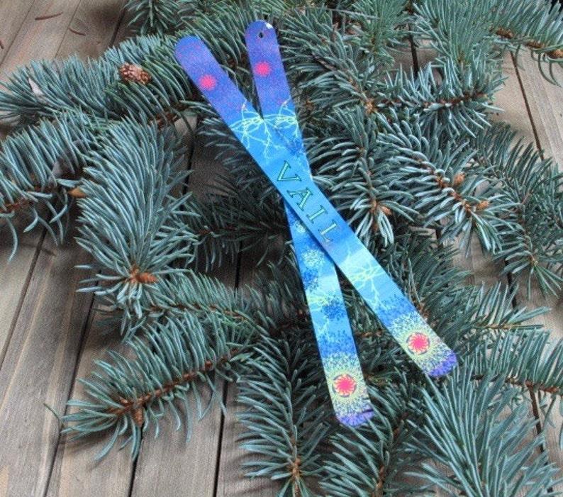 Custom Ski Christmas Ornament Personalized for everyone on image 0