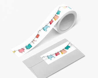 Clothing 15mm x 10m Boots Hobbies Grid Pattern Washi Tape