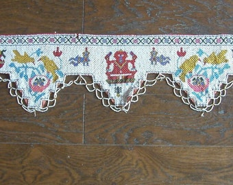 Beautifully Hand Embroidered Traditional Vintage Door Toran