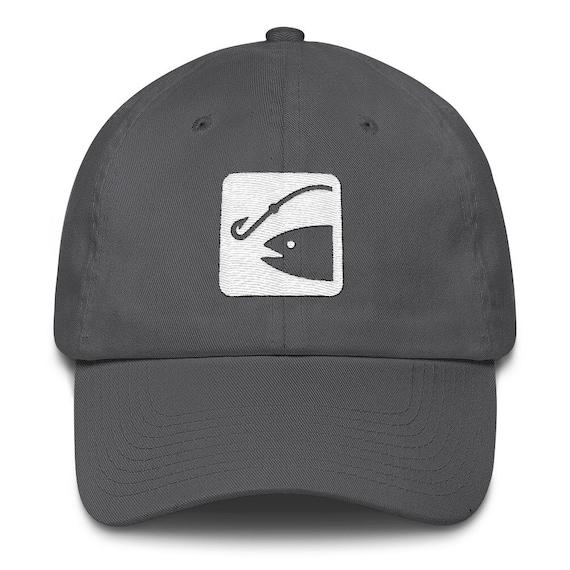 Fishing Symbol Fishing Hat Fishing Gift Fisherman Gift Etsy