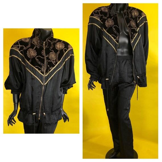 Lavon Vintage Windbreaker Jacket and Winbreaker Pa