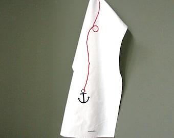 Anchor - tea towel