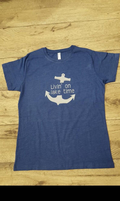 Livin on Lake Time Tshirt