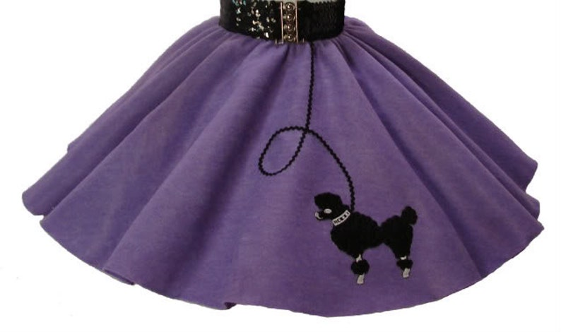 TODDLER 50/'s POODLE SKIRT 2T 3T 4T