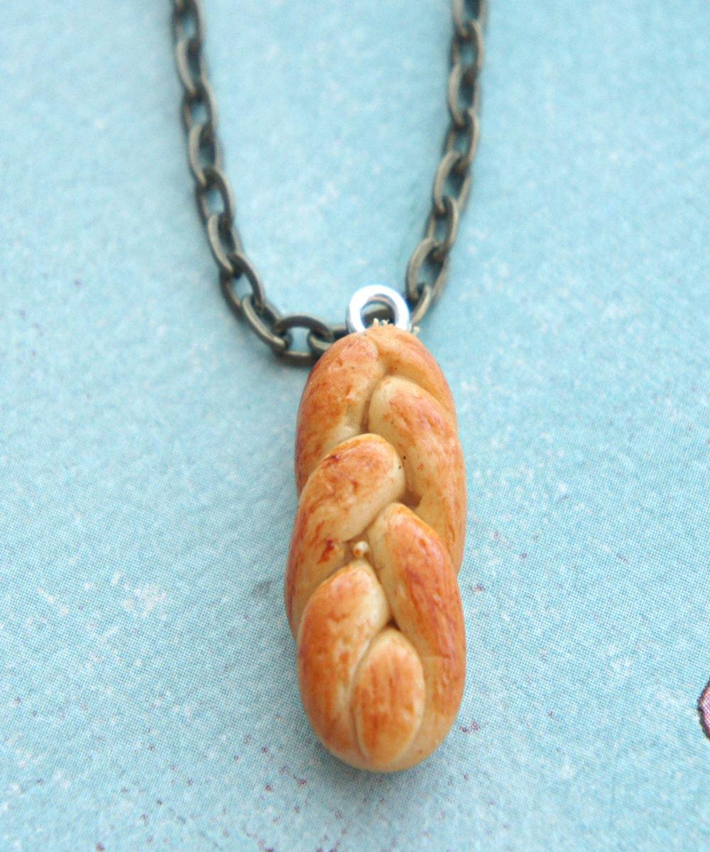 Jewish Food Jewelry-Mini Challah Jewelry-Shabbat Jewelry-Miniature Jewish Food Jewelry-Jewish Mini Food-Jewish Gift Jewish Food Earrings