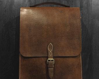 The Commuter  -  Full Grain Leather Bag