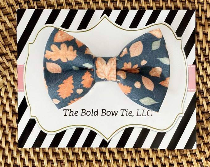 Fall Autumn Dog Bow Tie, Bow Tie for Dogs, Cats, Pets, Bowtie, Bow Ties, Dog Bow Tie, Dog Accessories, Dog Birthday Gift, Dog Lover Gift