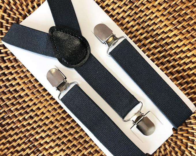 Gray Suspenders, Groomsmen Suspenders, Wedding Suspenders, Ring Bearer Outfit, Mens Suspenders, Boys Suspenders, 1st Birthday Outfit