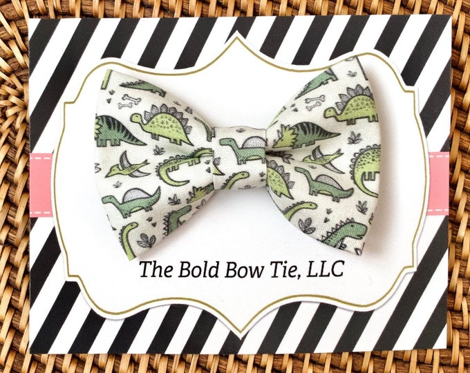 Dinosaur Dog Bow Tie, Bow Tie for Dogs, Cats, Pets, Bowtie, Bow Ties, Dog Bow Tie, Dog Accessories, Dog Birthday Gift, Dog Lover Gift