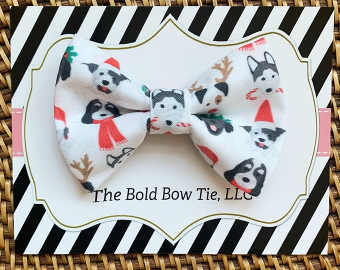 Christmas Dog Bow Tie, Bow Tie for Dogs, Cats, Pets, Bowtie, Bow Ties, Christmas Dog Bow Tie, Dog Lover Gift, Cat Bow Tie, Accessories