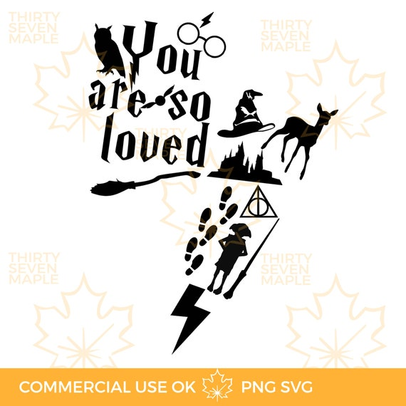 You Are So Loved Svg Png Etsy