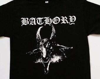 New † BATHORY† - Black - Unisex - ADULT -T Shirt Sizes S-2XL
