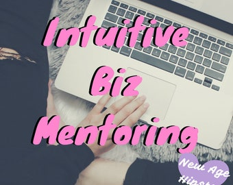 Intuitive Business Mentoring Session via Zoom or Skype