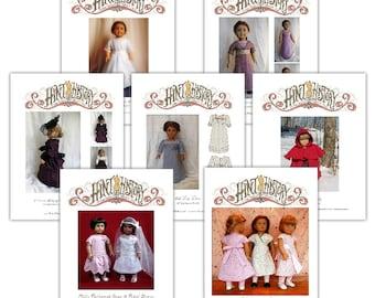7 Historical Patterns 18in Doll PDF ePattern DOWNLOAD
