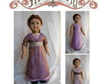 1912 Kimono Dress Variations 18in Doll PDF ePattern DOWNLOAD