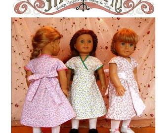 1930s Hooverette Dress 18in Doll PDF ePattern DOWNLOAD
