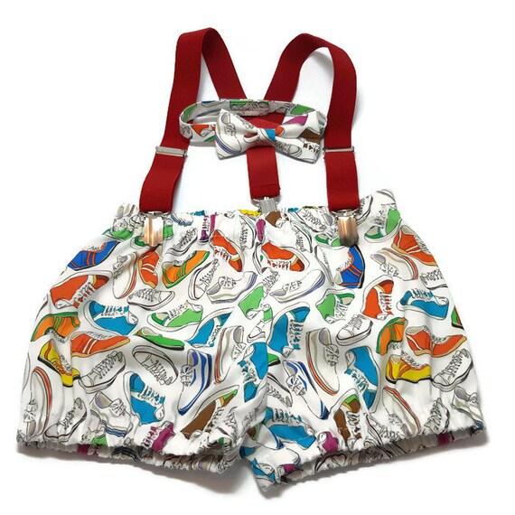 f90e4f1d4 Smash cake outffitoutfit for boySneakers boys bow tiecotton