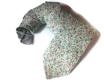 groom bow tie for groom floral bowtie in mint necktie wedding groomsmen floral ties pale green tie for men gift dog ring bearer A482/dkfj3