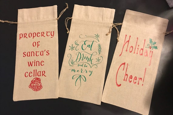 Christmas Gift Bags Bulk.Wine Gift Bags In Bulk Quantity Customizable Wine Gift Bags Custom Christmas Gift Sacks Bulk Quantity